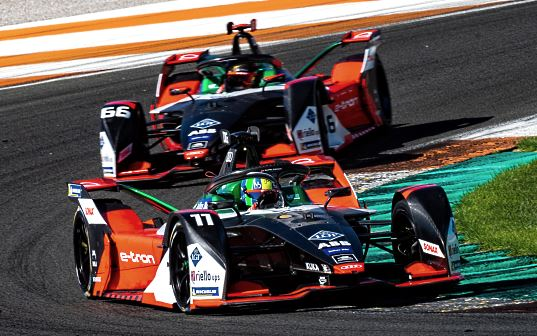 LGT sponsors Team Audi Sport ABT Schaeffler in this racing series.