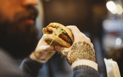 Food trends investments vegan burgers
