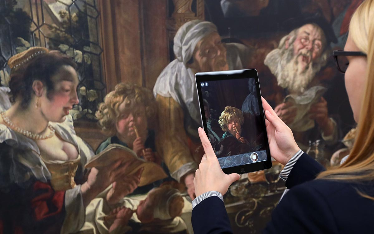 Augmented Reality and Jacob Jordaens