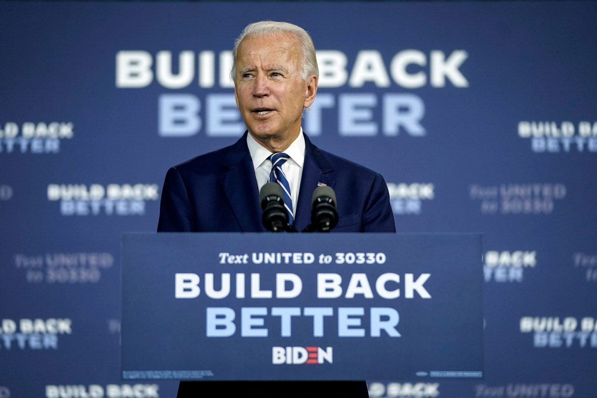 Markets count on Biden as guarantor of political stability and further stimulus measures